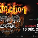 Destruction • Warbringer • Crisix • Le Grillen • Colmar